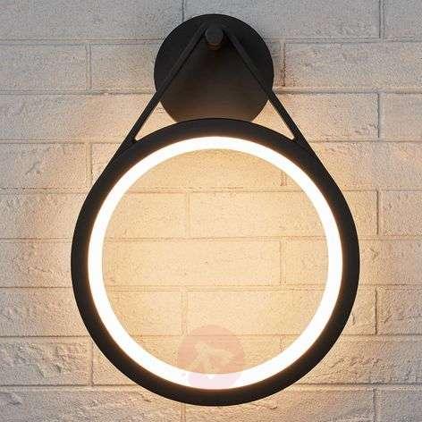 Renkaanmuotoinen LED-ulkoseinävalaisin Mirco