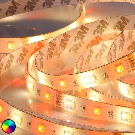 RGBW-LED-nauha Neila kaukosäädin, 500cm