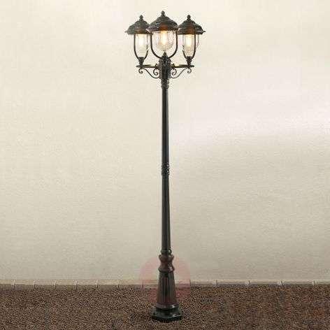 Romanttinen kolmilamppuinen kynttelikkö PARMA-5522157X-31