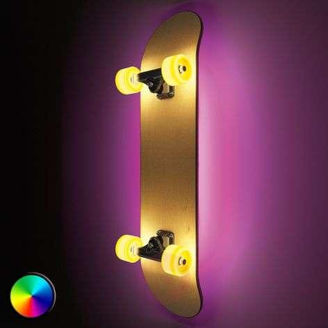 Rullalauta valaisin - Light Cruiser-seinävalaisin