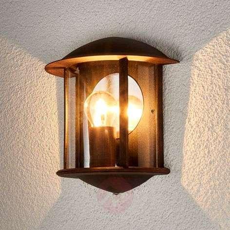 Ruosteenruskea LED-ulkoseinävalaisin Maelis-9630029-311