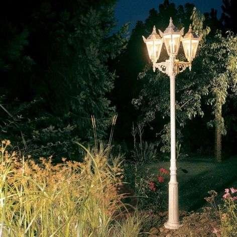 Rustiikkinen lyhtypylväs 756, 3 lamppua-4001756X-31