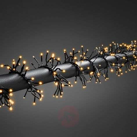 Ryhmä-valoketju Cluster ulkokäyttöön, 960-lampp.