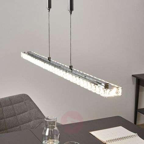 Säädettävä LED-riippuvalaisin Sesilia kristallilla