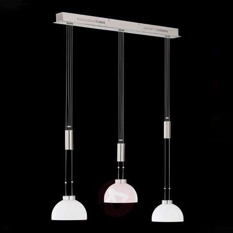 Säädettävä LED-riippuvalaisin Shine 3 lamppua