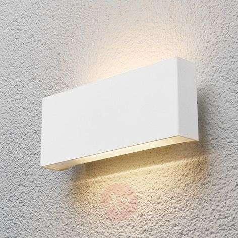 Safira - LED-ulkoseinävalaisin valkoisena