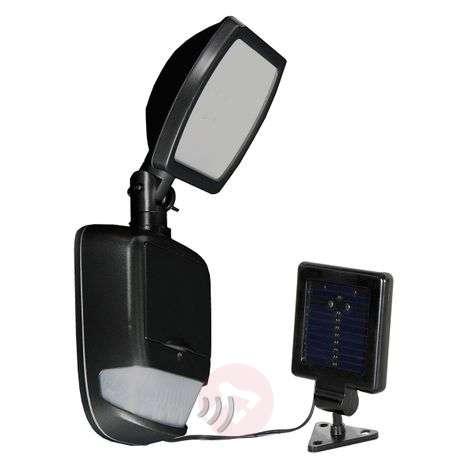Security Light, aurinkokäyttöinen LED-lamppu musta