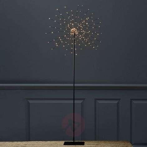 Seisova LED-tähti Firework, 3D, korkeus 130 cm