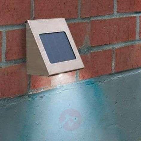 Shine-seinävalaisin aurinkokennolla teräs LED