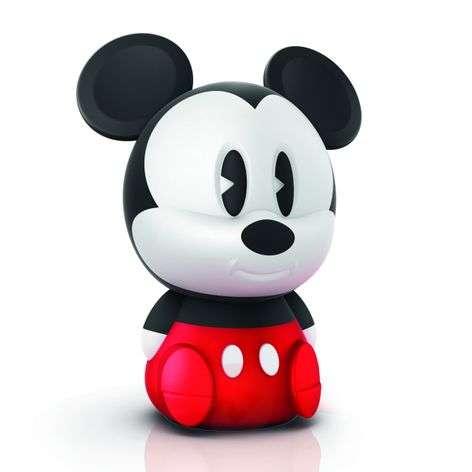Sievä lasten LED-pöytävalaisin Mickey akulla