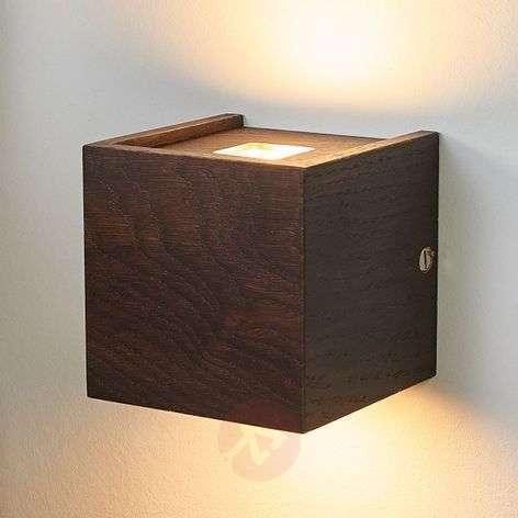 Siirtomaatammi – LED-puuseinävalaisin Mila, 10 cm