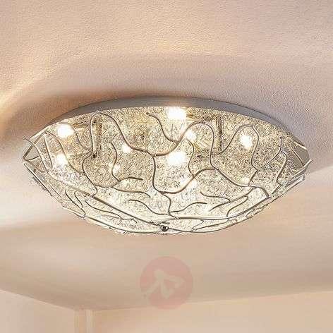 Simone – LED-kattolamppu, metallilankaa, G9