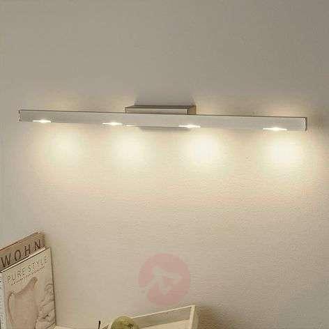 Sina LED Seinävalaisin, matta nikkeli, 80 cm