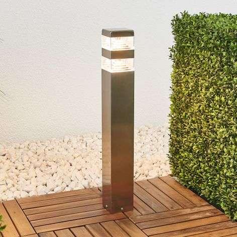 Sinja-LED-pylväsvalaisin, ruostumaton teräs
