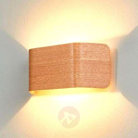 Skate LED-seinävalaisin, puun värinen