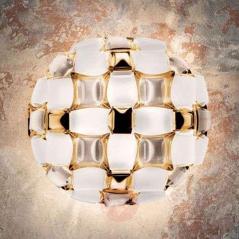 Slamp Mida -kattovalaisin, 50 cm, valkoinen-kulta