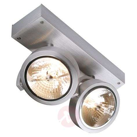 SLV Kalu 2 – kohdevalaisin 2-lamp. harjattu alum.
