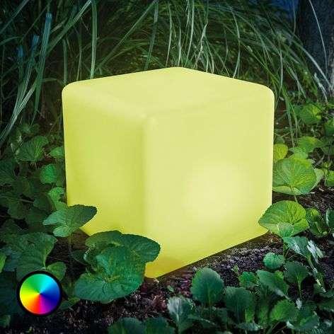 Smart Cube – aurinkok. väriä vaihtava LED-kuutio
