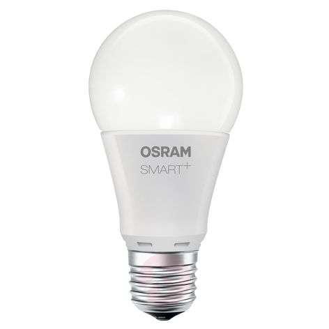 SMART+ LED E27 8,5W lämmin valk. 800 lm, himmennys