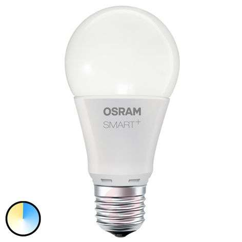 SMART+ LED E27 8,5W Tuneable white 800lm himmennys