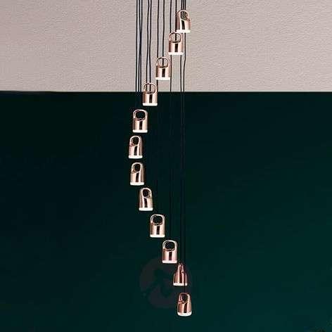 Spiraalimainen LED-riippuvalaisin Tinus