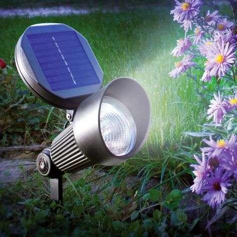 Spotlight LED seinä- ja maavalaisin aurinkokenno