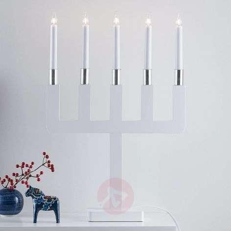 Sundstorp ajattoman kaunis valkoinen kynttelikkö-6507494-31