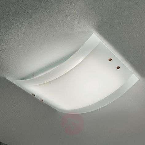 Suuri kattovalaisin Mille LED lasivarjostimella