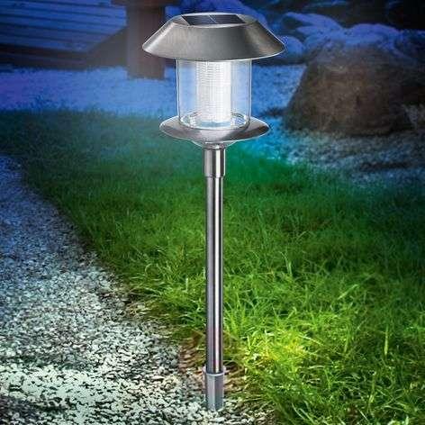 Swing Duo Solar LED-aurinkokennovalaisin terästä-3012004-31