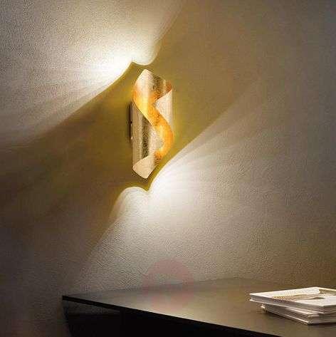 Taivutettu LED-seinävalaisin Nevis metallia-7610647-310