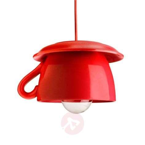 Tazza – pun. keramiikkariippuvalaisin keittiöön