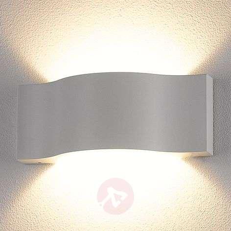 Tehokas Jace-LED-ulkoseinävalaisin, valkoinen