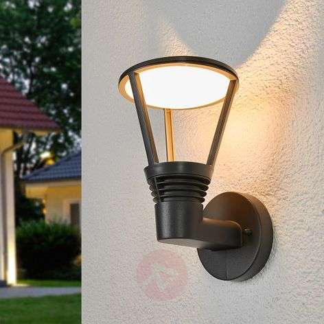Teollinen vivahde Ladi-LED-ulkoseinävalaisimella