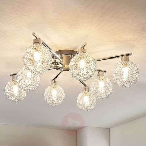 Ticino - LED-kattovalaisin, 8 lamppua
