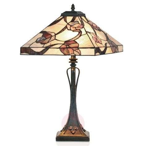 Tiffany-tyylinen APPOLONIA-pöytävalaisin-1032187-31