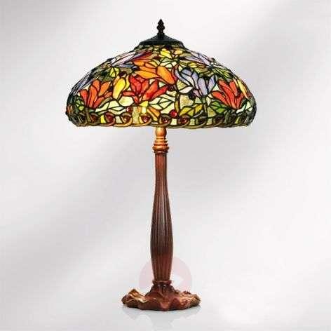 Tiffany-tyylinen Elaine-pöytävalaisin, 64 cm-1032253-31