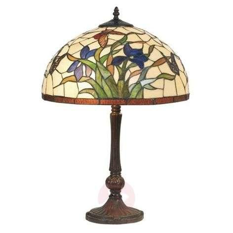 Tiffany-tyylinen Elanda-pöytävalaisin-1032160-31