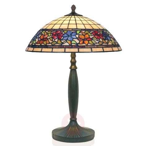 Tiffany-tyylinen, käsintehty FLORA-pöytävalaisin-1032128-31