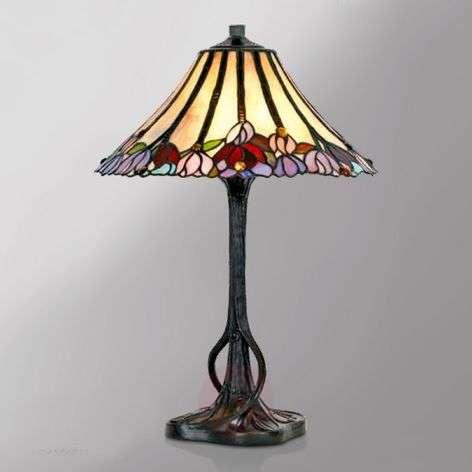Tiffany-tyylinen Tori-pöytävalaisin