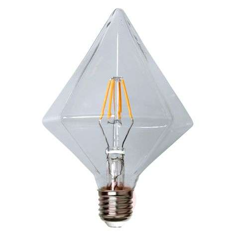 Timantinmuotoinen LED-lamppu E27 3,2W 827