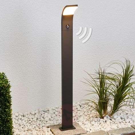 Timm-LED-pylväsvalaisin liiketunnistimella, 100 cm
