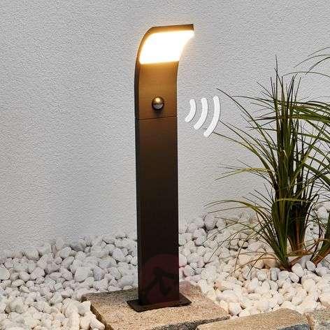 Timm – LED-pylväsvalaisin, liiketunnistin, 60cm