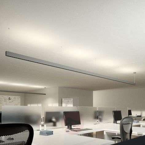 Toimiston LED-riippuvalaisin Laris, hopea