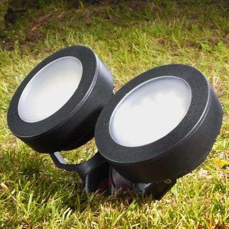 Tommy maapiikkikohdevalo LED pyöreä musta 10W 2-l.