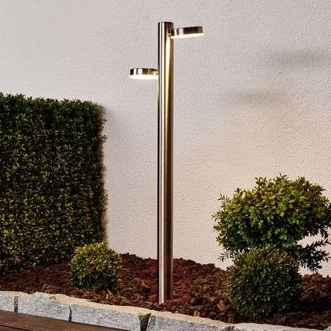 Toriba – Maapiikillä varustettu LED-pylväsvalaisin