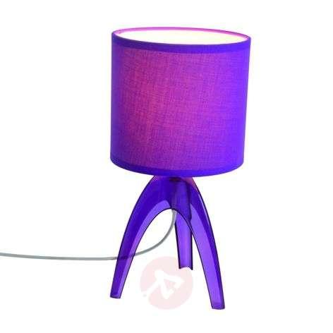 Trendikäs pöytävalaisin Ufolino, violetti