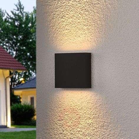 Trixy-LED-ulkoseinävalaisin grafiitinharmaa