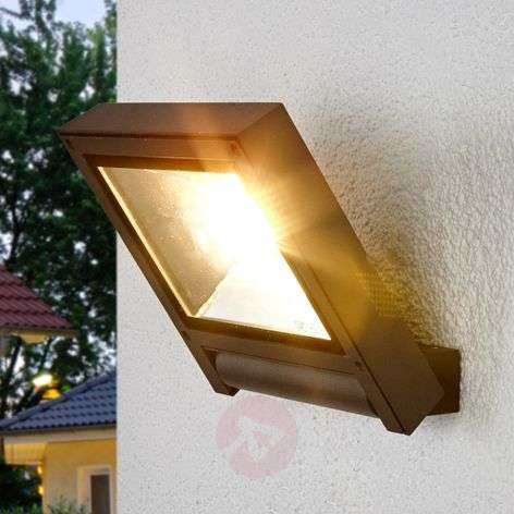 Tummanharmaa Maio LED-valaisin ulkotiloihin