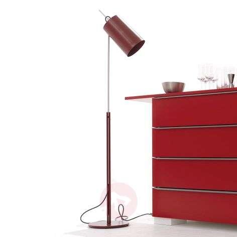Tyylikäs design-LED-lattiavalaisin Tuba