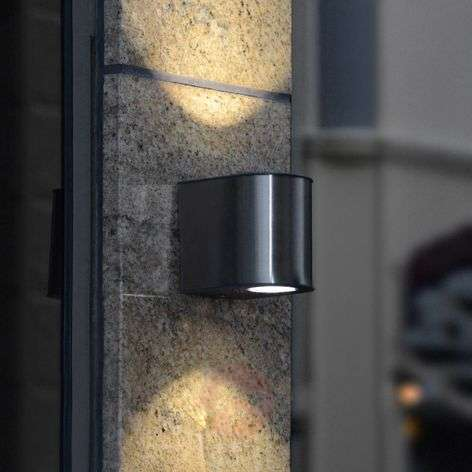 Tyylikäs Gemini-LED-ulkoseinävalaisin IP54